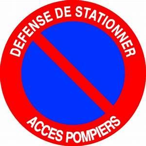 Panneau Interdit De Stationner : panneau d fense de stationner acc s pompiers stocksignes ~ Dailycaller-alerts.com Idées de Décoration