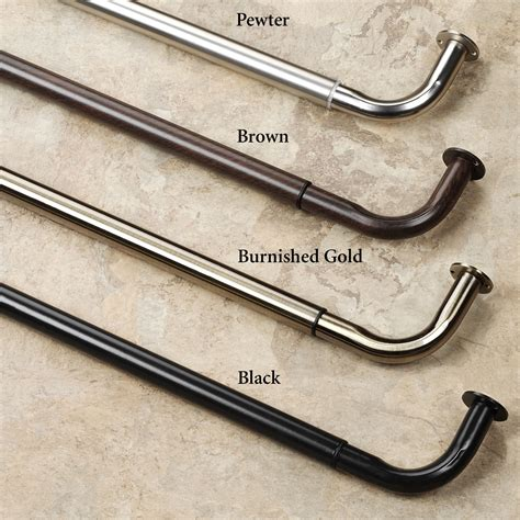 blockaide wrap around curtain rod best types of curtain rods homesfeed