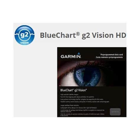 carte marine xl large garmiin bluechart  hd vision bateau