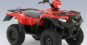 Factory Atv Suzuki Service Repair Manual  2008