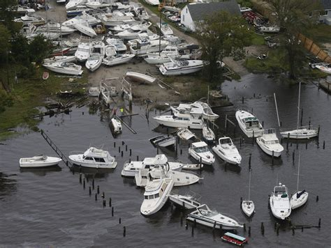 Boats Damaged By Hurricane Florence by Photos Flooding Damage Left In Of Hurricane