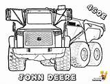 Coloring Construction Truck Deere John Vehicle Yescoloring Dump Trucks Tractor Hard Boys Vehicles Template Tractors Skidder Sheets Rock Colouring Printables sketch template