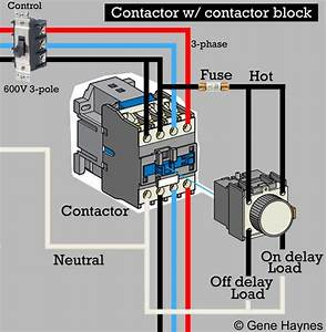 How To Wire Contactor Block