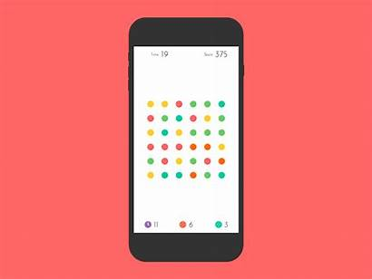 Iphone Dots Dribbble Inspired Animation Animated Vector
