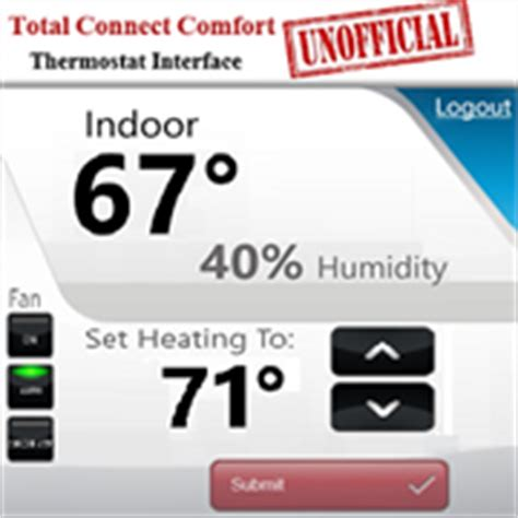 total connect comfort total connect comfort thermostat for windows 10 pc