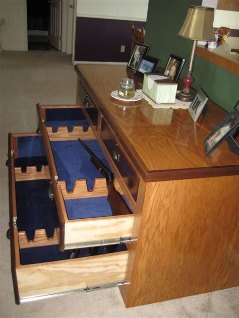 Plans For Homemade Gun Cabinet  Woodworking Projects & Plans