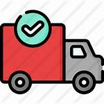 Delivery Truck Icon Icons Premium Lineal