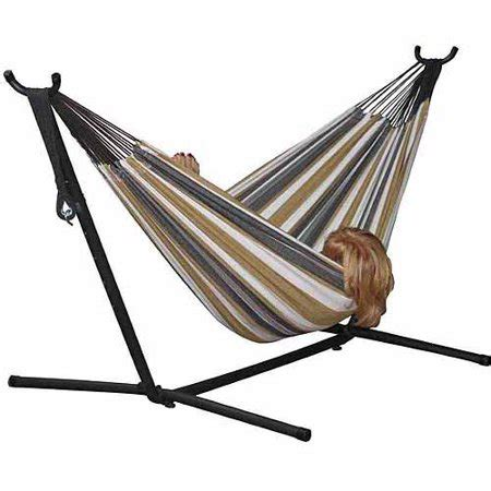 Vivere Hammocks by Vivere Hammock With Stand Combo Desert Moon