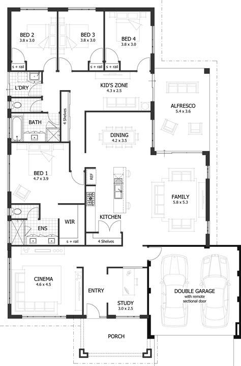 bedroom plans designs 4 bedroom house plans home designs celebration homes