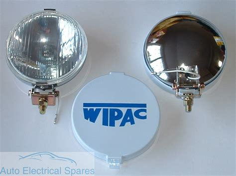 wipac s6078 5 1 2 chrome halogen driving fog ls 1 pair