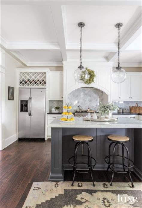 Pottery Barn Perimeter Mall by Eclectic White Kitchen With Traditional Cabinetry Luxe