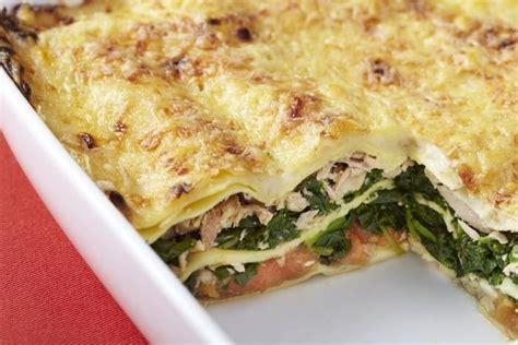 recette de lasagne de thon et 233 pinards facile