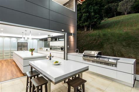 modern outdoor kitchen ideas beautiful outdoor kitchen ideas for summer freshome com