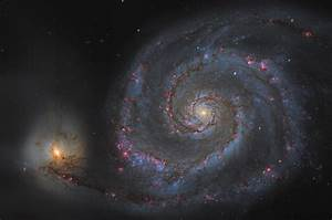 Whirlpool Galaxy Hubble (page 2) - Pics about space
