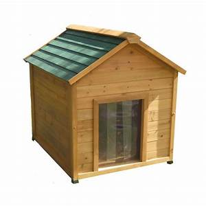Shop x large insulated cedar dog house at lowescom for Large insulated dog house
