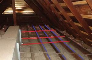 Raise Attic Floor Over Wires With 2x2s