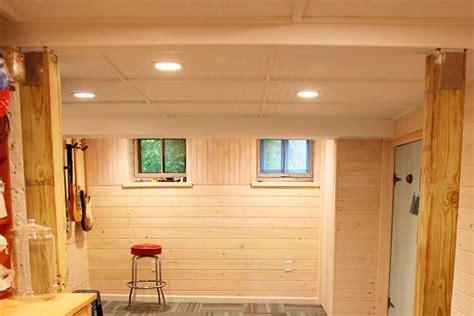 ideas  tips  finishing  basement ceiling basement