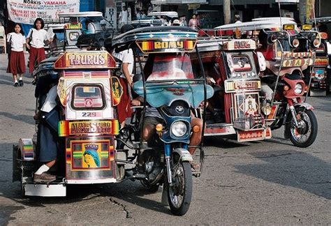 philippines pedicab filipino icon tricycle and pedicab ffe magazine