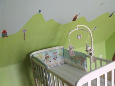 chambre bébé vert chambre de photo 6 12 3502041