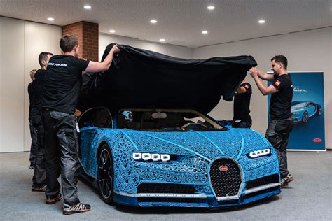 Not only does it look. LEGO Technic Bugatti Chiron Life-Size Model-67 | The Brothers Brick | The Brothers Brick