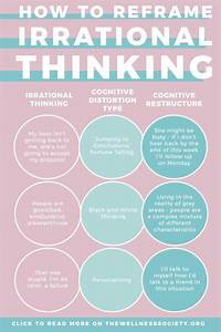 Stress Management   How To Reframe Irrational Thinking  An