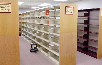 Empty Library Shelves Background Clyde Peephole Virginia