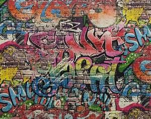 P&S Graffiti Street art Children Kids Teenager Tag Brick ...