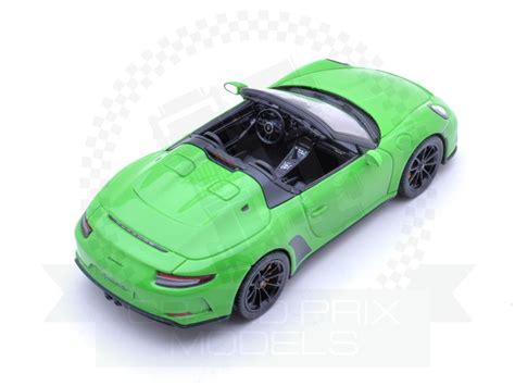 2019 porsche 911 speedster first drive: Porsche 911 Speedster 2019 Green by Spark
