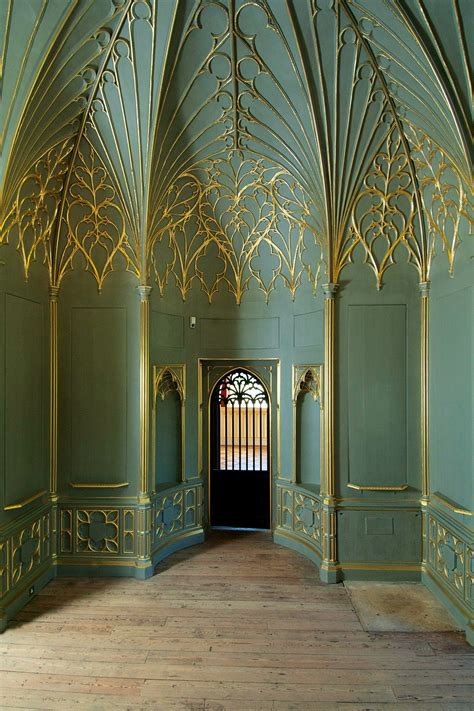 strawberry hill revival gothic house architecture strawberry hill house
