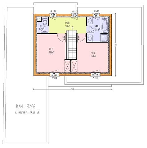 maison 3 chambre plan de maison 100m2 3 chambres plan maison plein pieds