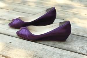 wedding shoes 2 inch heel purple wedding shoes wedge low heel 1 inch wedge shoes wide shoes available 2439103 weddbook