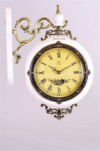 Fancy, Square, Wall, Clock, With, Special, Design, Wall, Clock, Vintage