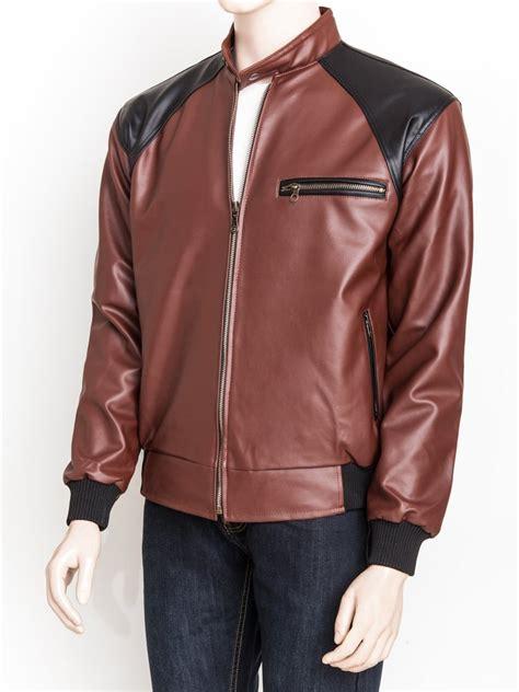 jual beli jaket kulit sintetis premium warna kombinasi