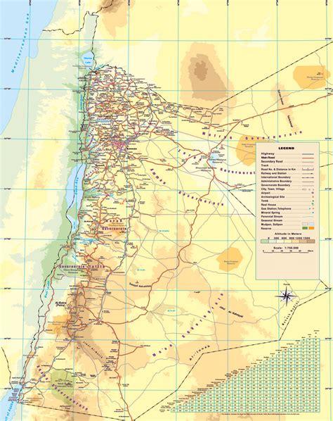 jordan map road