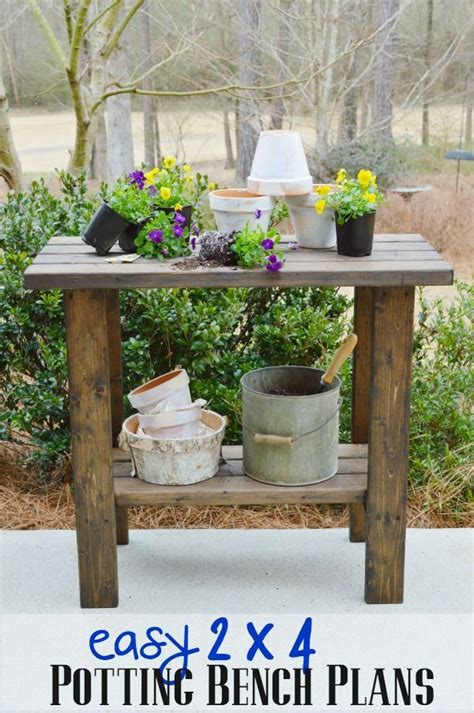 potting bench plans small spaces woodworking plans