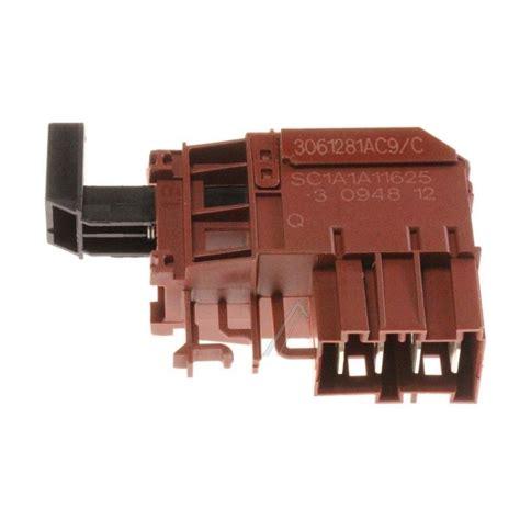 disjoncteur pour lave linge interrupteur de lave linge bosch