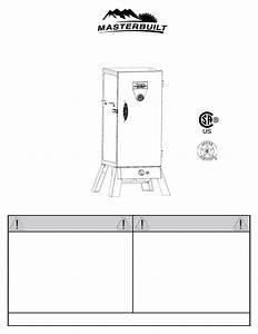 Masterbuilt Propane Smoker 20051011 User U0026 39 S Manual