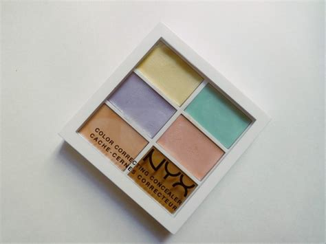 nyx colour correcting concealer palette nyx color correcting palette review and cosmetics