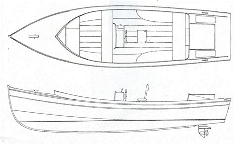 Outboard Runabout Boat Plans by Small Runabout Plans For Concealed Outboard Motor