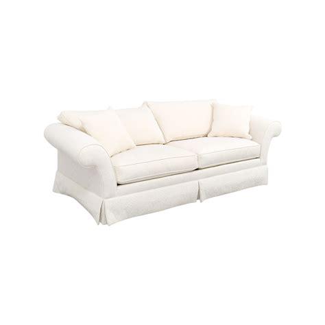 ethan allen sofas on sale 90 off ethan allen ethan allen rolled arm white sofa