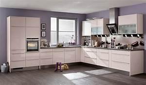 Küchen Farben Trend : moderne einbauk che bavaria 2167 kaschmir hochglanz k chenquelle ~ Markanthonyermac.com Haus und Dekorationen