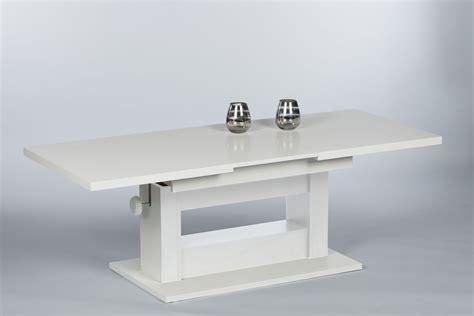 Wohnzimmertisch Höhenverstellbar Weiß by Couchtisch Wohnzimmertisch Beistelltisch Tisch