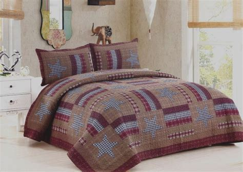 King Size Quilt And Shams by Barnwood Quilt American Hometex Quilts King Size