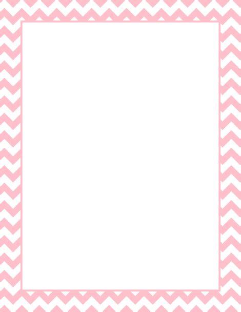 Printable Pink Chevron Border Free Gif, Jpg, Pdf, And Png