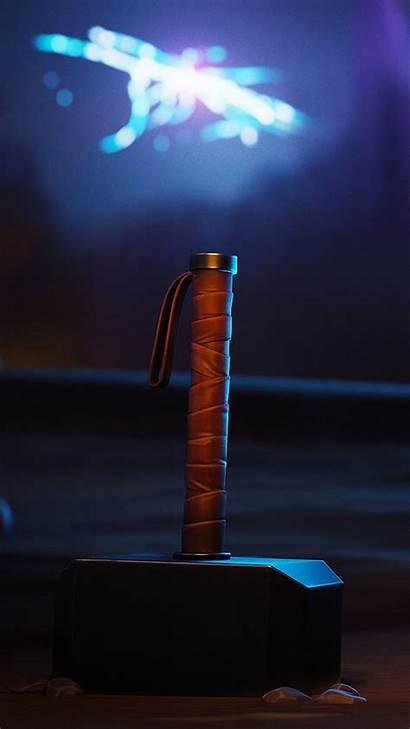 Thor Fortnite Hammer 4k Ultra Mobile Wallpapers