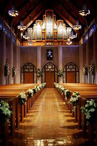Church Aisle Wedding