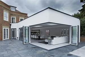 la veranda moderne80 idees chic et tendance With maison bois toit plat 8 la veranda moderne 80 idees chic et tendance