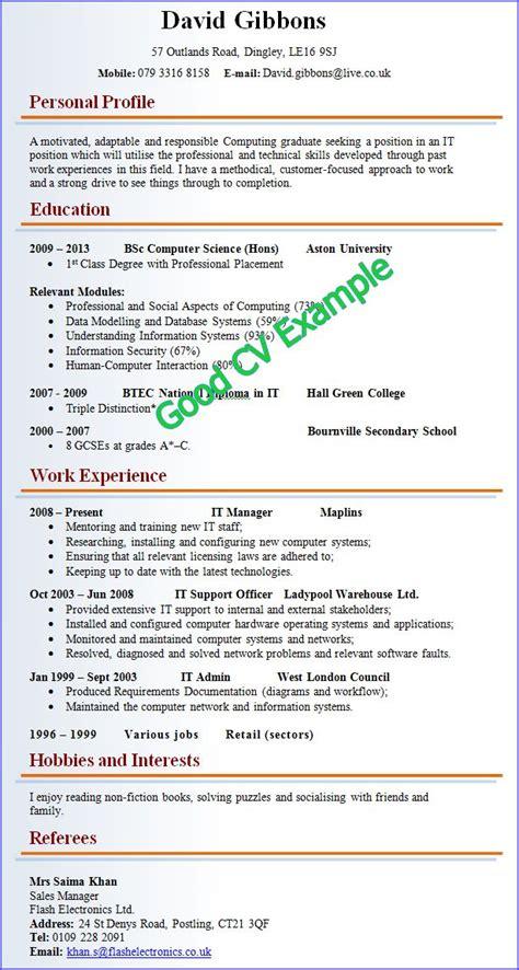 resume templates good  bad   good cv good