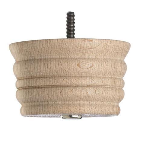 wooden sofa foot mm  mm raw finish