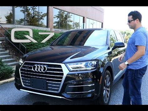 Audi 2017 Q7 Quattro Suv Review Street Tested Youtube